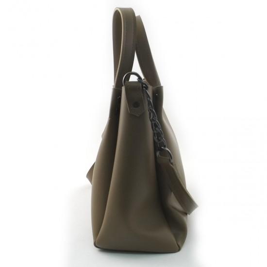 Женская модельная сумка LARGONI 1742A оливковый