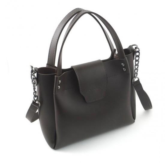 Жіноча модельна сумка LARGONI 1742A кавовий