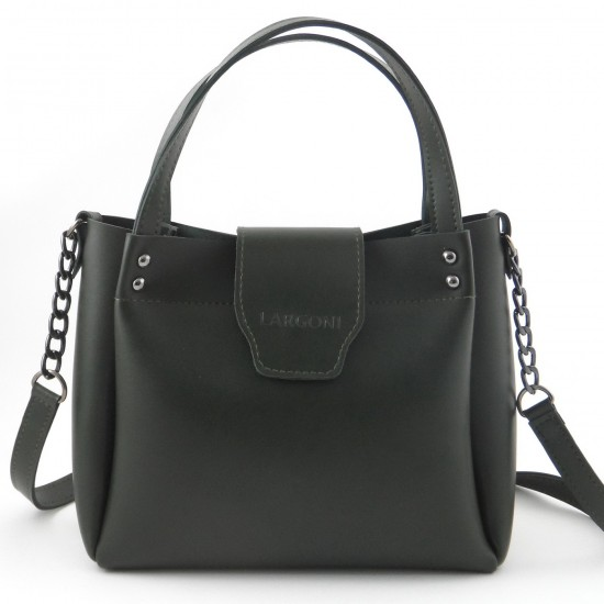 Женская модельная сумка LARGONI 1742A зеленый