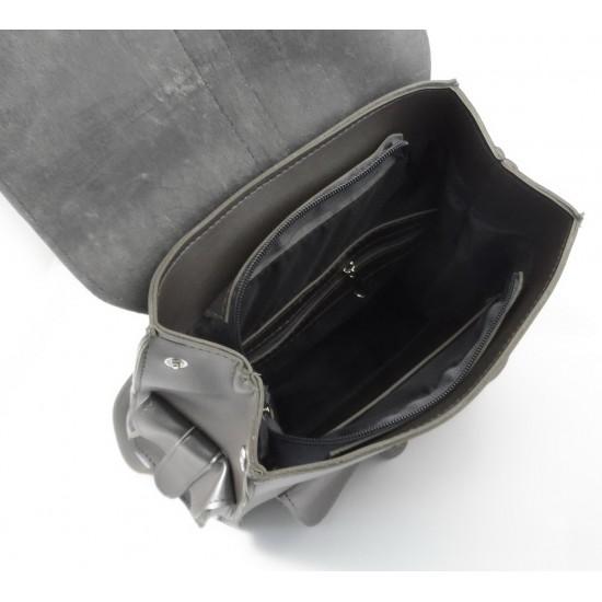 Жіночий рюкзак LARGONI 1843 срібло