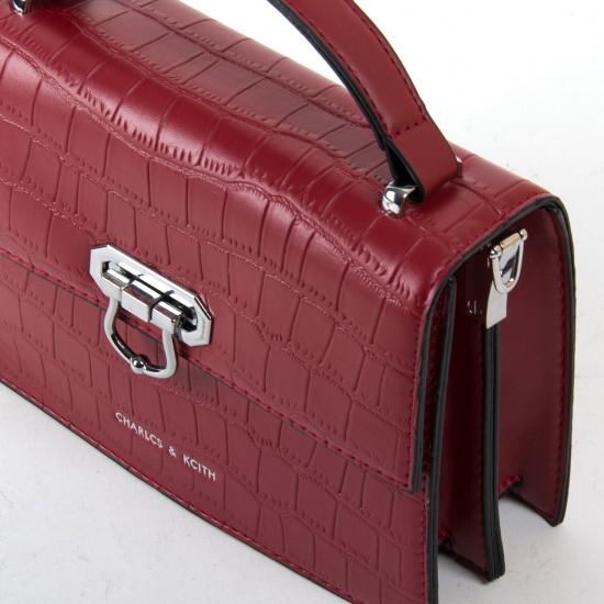 Женская сумочка-клатч FASHION 16915 бордовый
